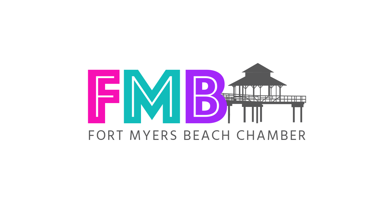 Fort Myers Beach Chamber of Commerce Logo - After Redesign