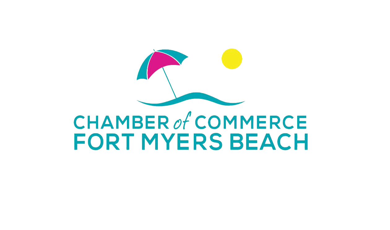 Fort Myers Beach Chamber of Commerce Logo - Before Redesign