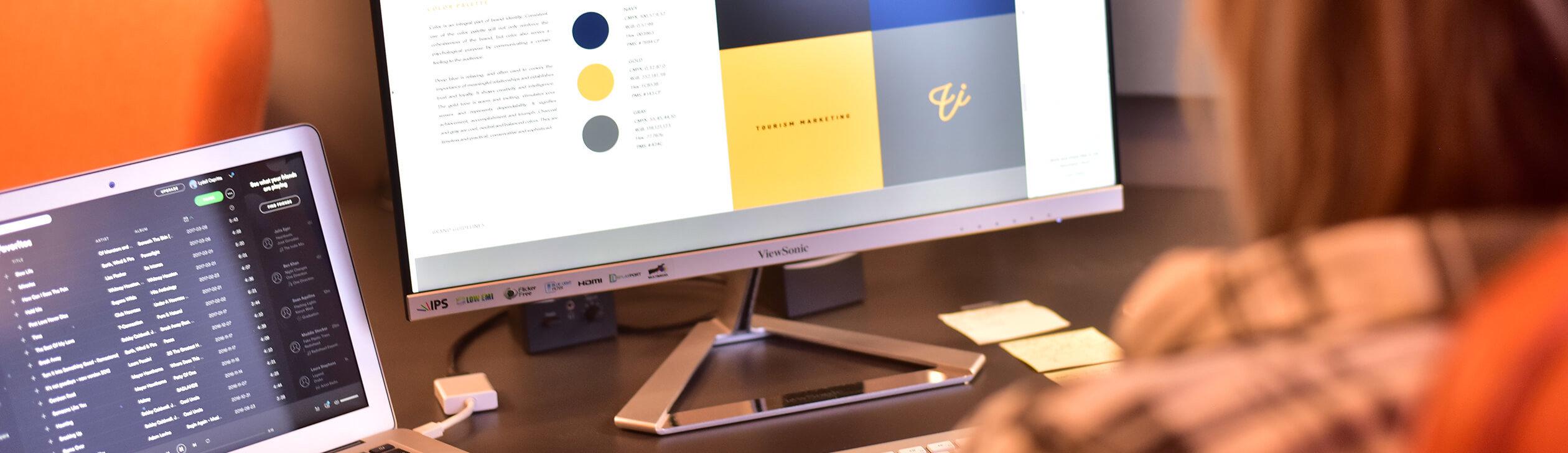 Vector ink rebranding process