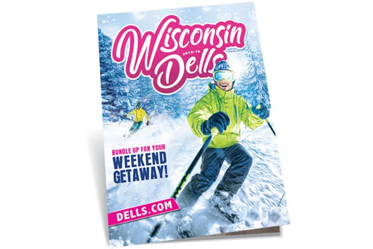Wisconsin Dells 2018-2019 Winter Travel Guide Cover