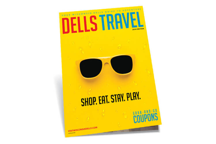 Wisconsin Dells 2019 Travel Guide Cover