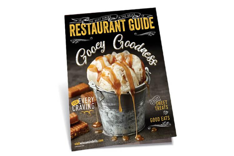 Wisconsin Dells 2019 Restaurant Guide Cover