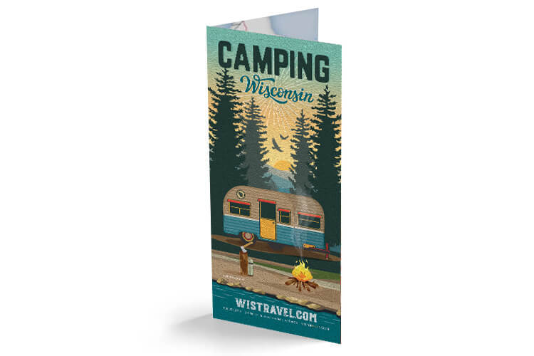 Wisconsin Camping Guide Brochure Cover