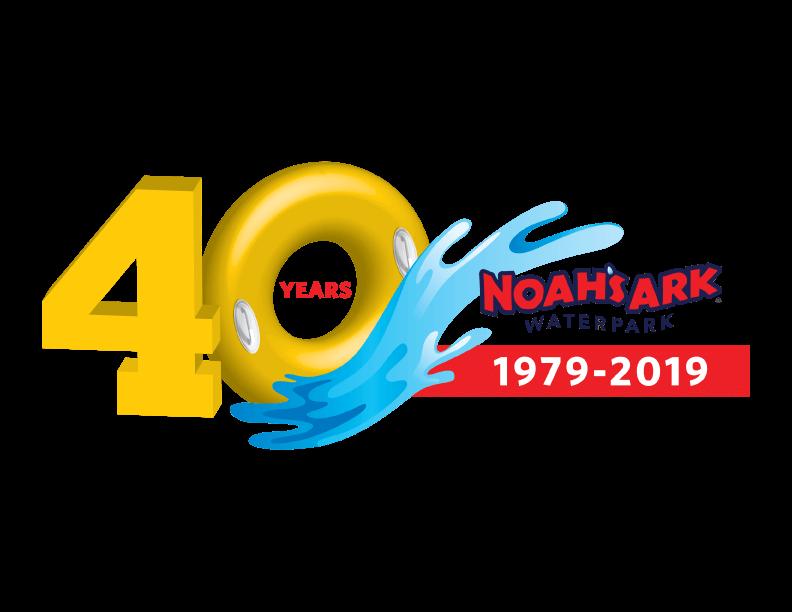 Noah's Ark 40th Anniversary Logo