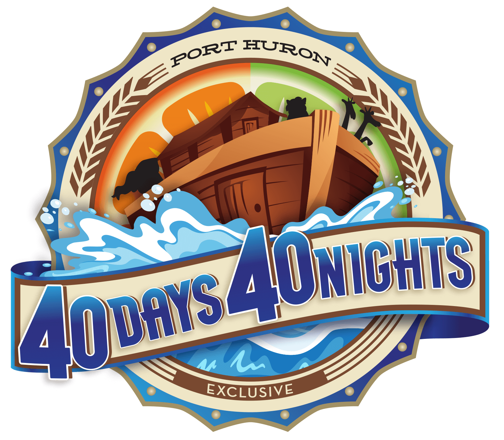 Port Huron - 40 Days 40 Nights Special Event Logo