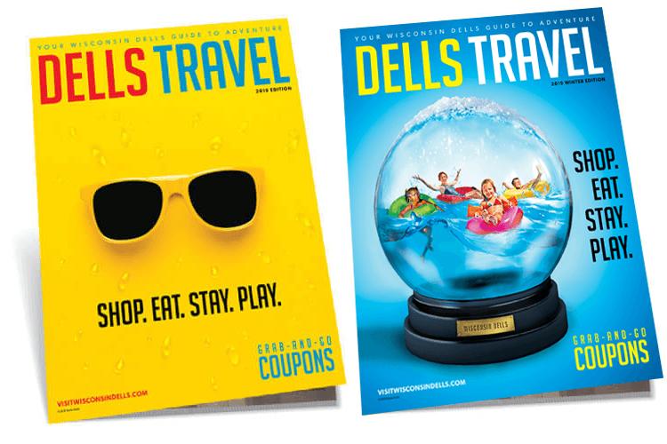 Dells Travel Magazine Covers