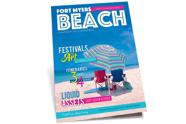Fort Meyers Beach Magazine Cover